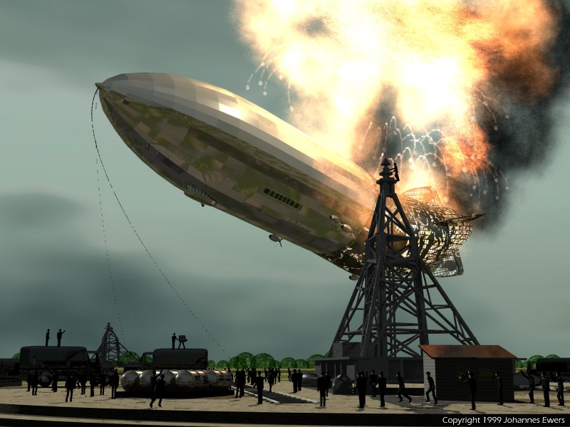 the cause of the hindenburg disaster